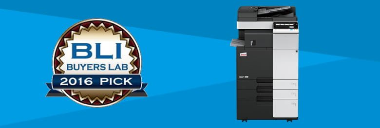 BLI Award Winning Photocopier