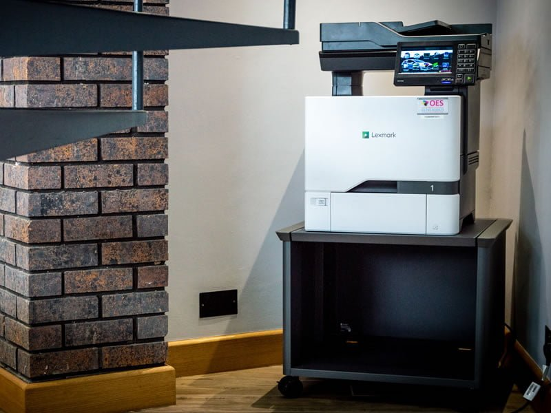 lexmark a4 printer in OES office