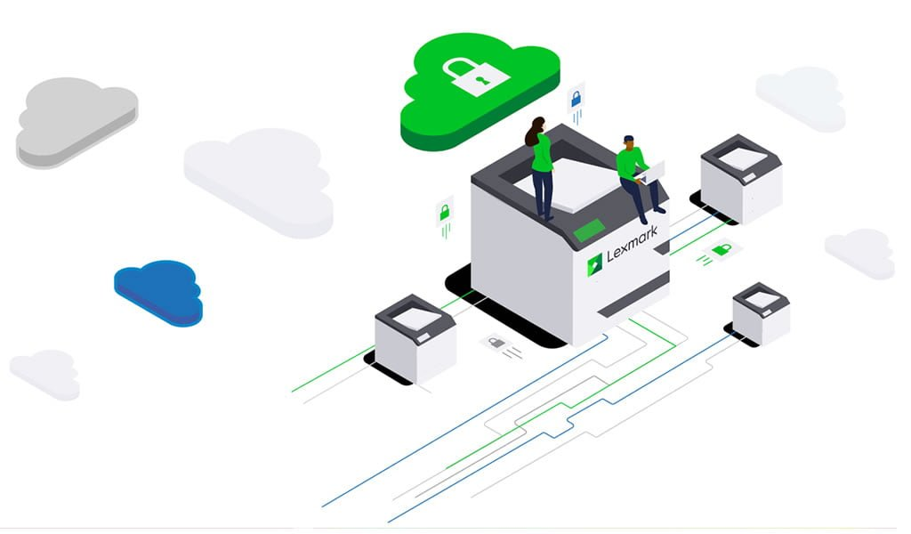 Lexmark Print from anywhere